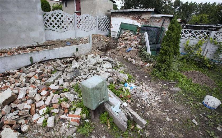Kto zakopał trupa w ogródku?