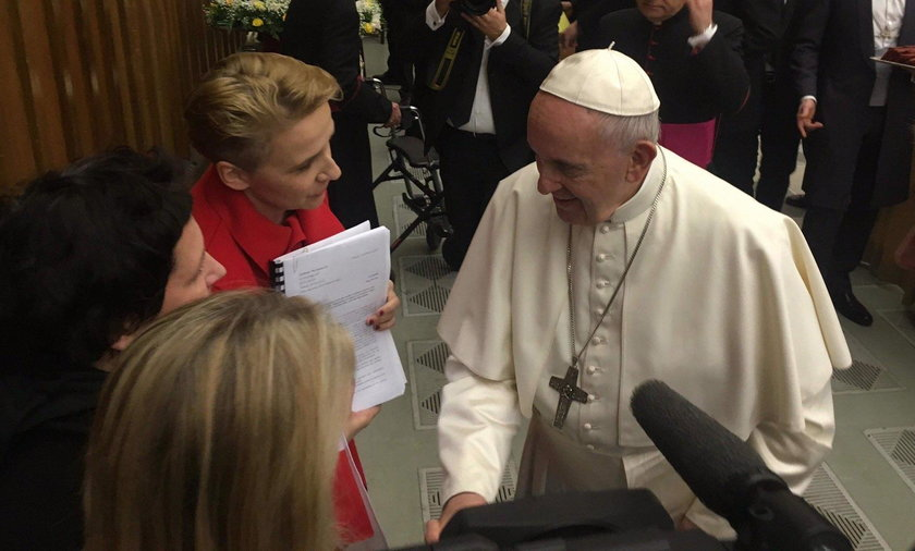 Polska posłanka spotkała się z papieżem. Co mu przekazała?