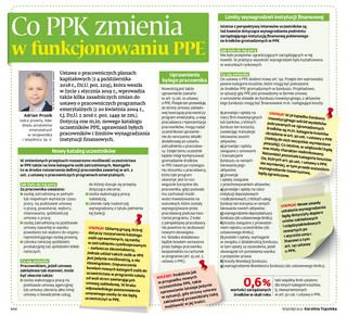 Co PPK zmienia w funkcjonowaniu PPE