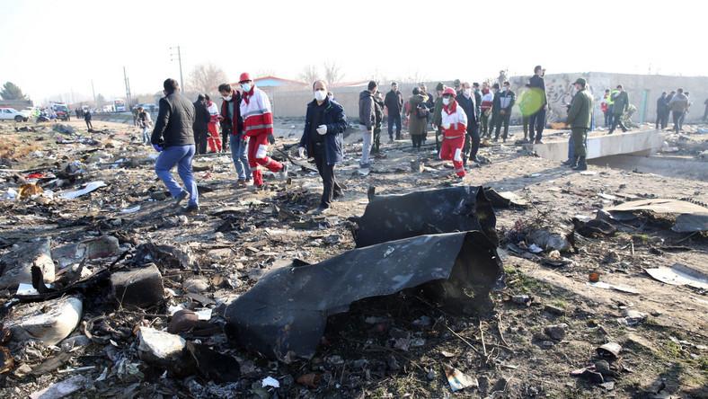 Katastrofa ukraińskiego samolotu