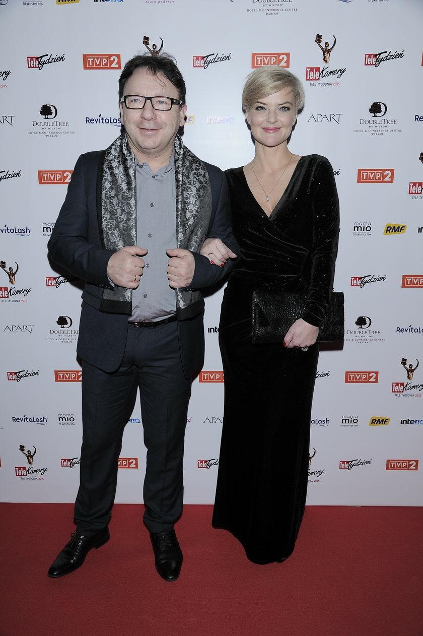 Zbigniew Zamachowski z żoną