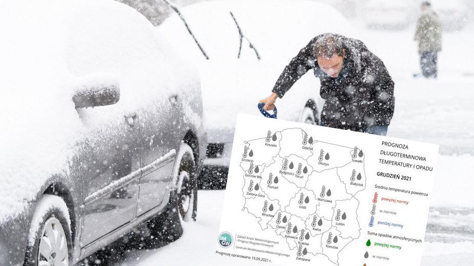 Zima 2021 w Polsce. Nowe przewidywania IMGW [prognoza długoterminowa]