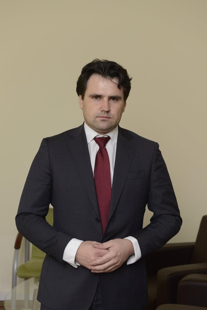 Jarosław Perduta (40 l.), rzecznik dolnośląskiego urzędu marszałkowskiego