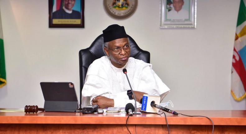Kaduna State governor, Nasir El-Rufai [KDSG]