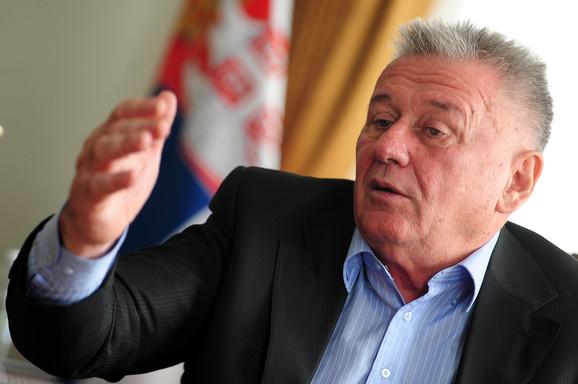 Samo on nije odgovoran: Velimir Velja Ilić, ministar
