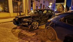 Pijana w BMW zdemolowała rynek w Grudziądzu. Policja ujawniła wideo