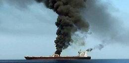 Na wodzie płoną tankowce. Ktoś je zaatakował?