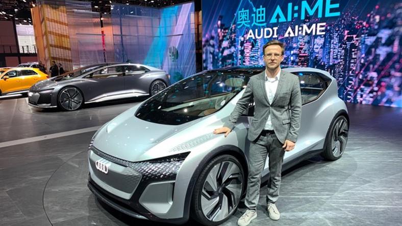 Bogusław Paruch i jego Audi AI:ME