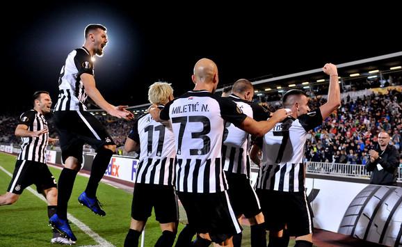 Fudbaleri Partizana slave pogodak protiv AZ Alkmara