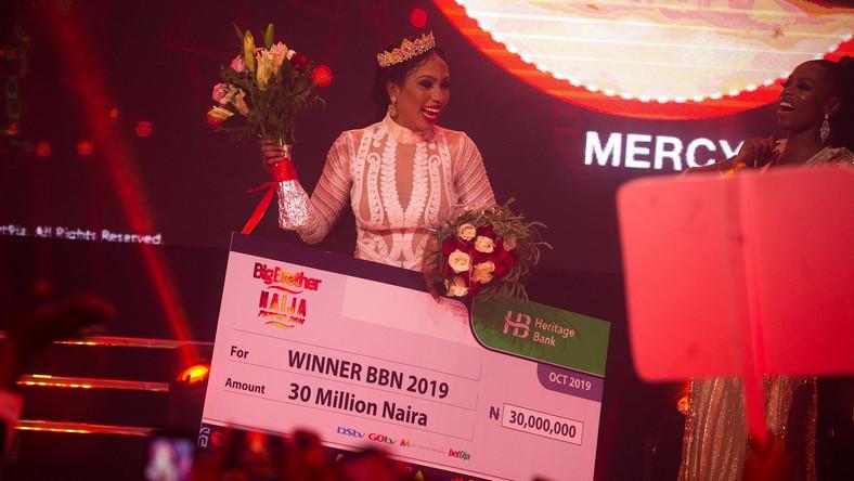 BBNaija Winner Mercy