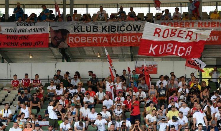 Polscy kibice na Hungaroringu