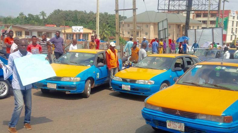 Akure cabs [Sahara Reporters]