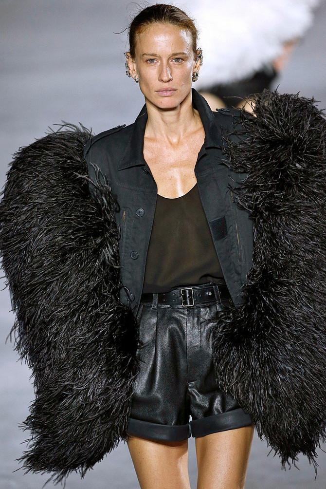 Nataša Vojnović na Nedelji mode u Parizu 2017. godine