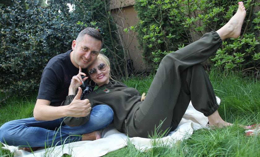 Norbi z żoną
