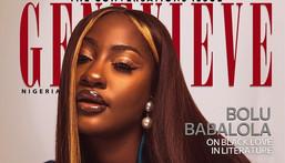 Tems on the cover of Genevieve magazine {instagram/temsbaby}