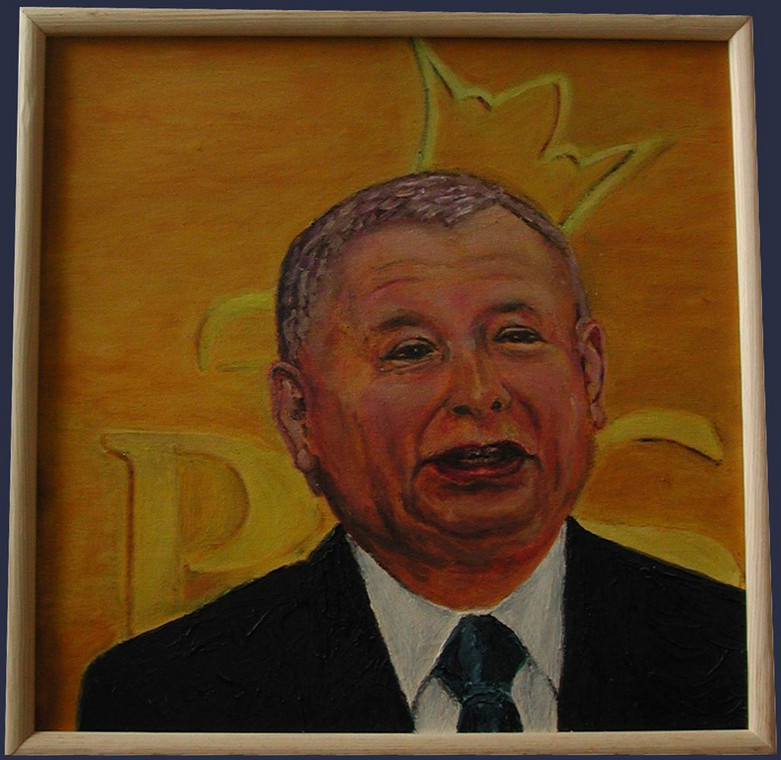 Portret Jarosława Kaczyńskiego