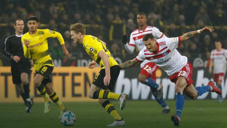 epa06512226 - GERMANY SOCCER BUNDESLIGA (Borussia Dortmund vs Hamburger SV)