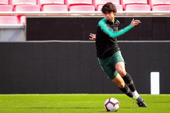Žoao Feliks neće igrati protiv Srbije, jer se povredio na treningu u nedelju