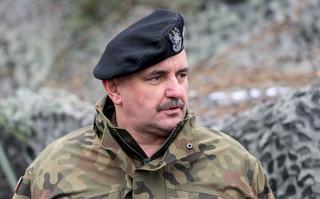 Dowódca MON generał Jarosław Mika zarażony koronawirusem