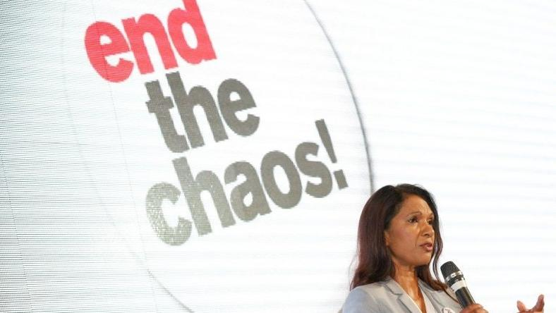 "Businesswoman Gina Miller has launched a nationwide campaign, urgng an end to the ""chaos"" of Brexit, whose consequences she insists nobody clearly understands amid a welter of poisonous and unproductive debates"""