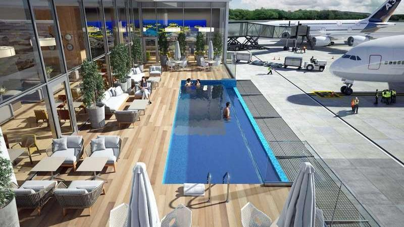 Tak będzie wyglądał basen na lotnisku w Punta Cana