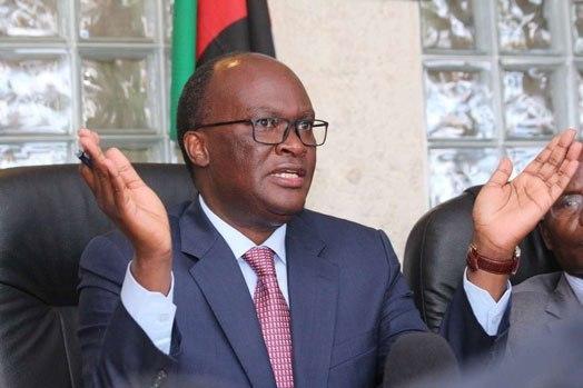 kenya's Transport secretary James Macharia