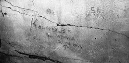 Świadectwo Powstania Warszawskiego. Ślady po kulach i napisy na murach