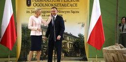 Żart prezydenta podczas wizyty w szkole. Przytyk w stronę Macrona?