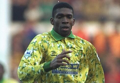Efan Ekoku was pivotal for Wimbledon in the mid 90s (Getty Images)