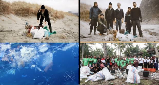 Zbieranie plastového odpadu z oceánov na Bali a v Hoddeviku. d811416b258