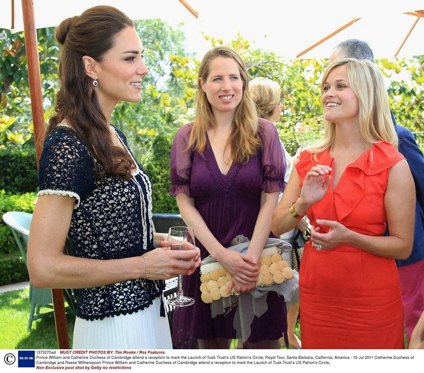 Księżna Kate i  Reese Witherspoon
