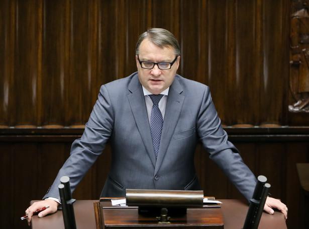 Marek Biernacki przedstawił w Sejmie swoje plany na najbliższy rok.