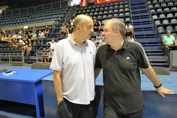 Duško Vujošević i Velimir Gašić