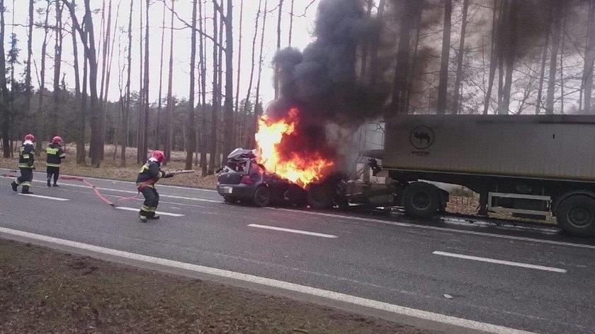 Tragiczny wypadek na drodze krajowej nr 46