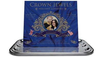 80bf67385582 Pri príležitosti svadby Harryho a Meghan vznikla edícia kondómov