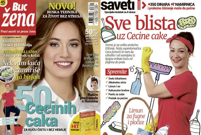 "Nova ""Blic žena"" na kioscima je od subote 6. aprila"