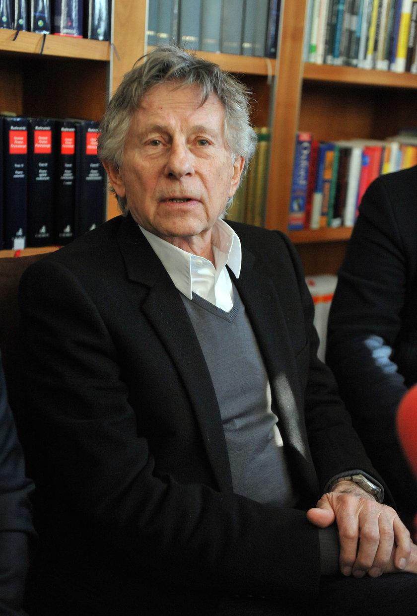 Roman Polański w styczniu w Krakowie