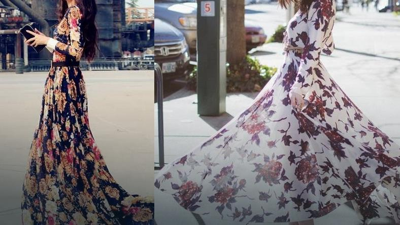 ccf3a67aab Długie sukienki idealne na lato.