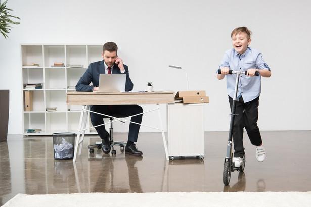 Dziecko. Biuro