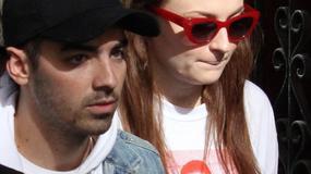 Świeżo zaręczeni Sophie Turner i Joe Jonas w Madrycie