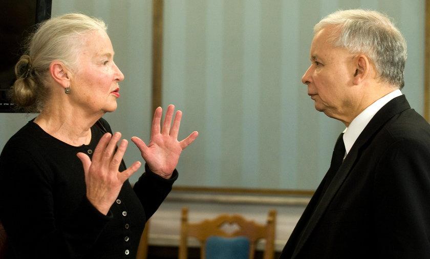 Staniszkis współczuje Kaczyńskiemu, a gani prezydenta
