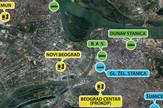 mapa stanice