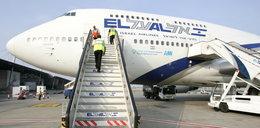 Alarm bombowy w izraelskim samolocie. Myśliwce eskortowały maszynę