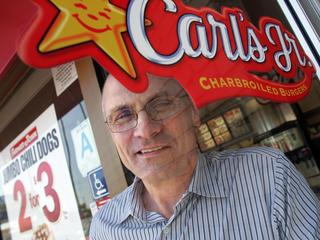 CEO of CKE Restaurants Andrew Puzder