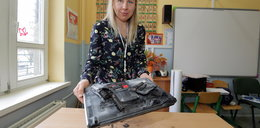 Wybuch laptopa w szkole w Pabianicach. Brawa dla nauczycielek!