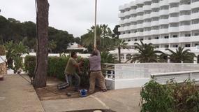 Turyści wybrali się na luksusowe wakacje. Okazało się, że w hotelu nadal trwa remont