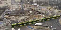 Zamykają Kaponierę dla tramwajów. Inaczej pojedzie 10 linii!