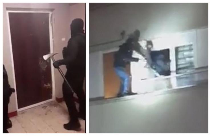 Akcija hapšenja najveće grupe makroa