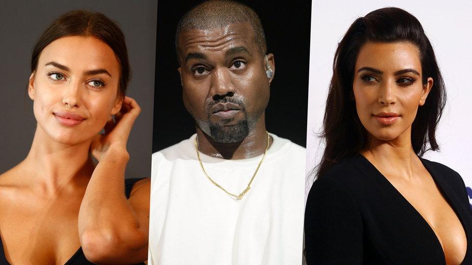 Kanye West spędził urodziny z Iriną Shayk. Wciąż jest mężem Kim Kardashian