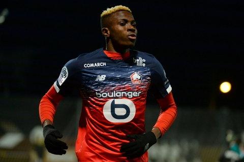 Victor Osimhen deverá receber aumento salarial no Lille ou em outro clube